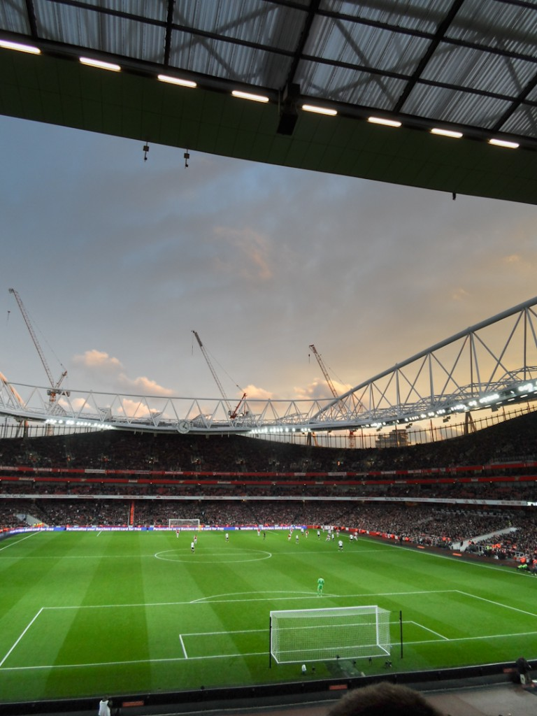 Sunset at Emirates.